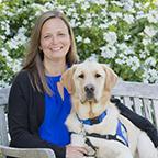 Dawn Gatley and Canine Companions service dog