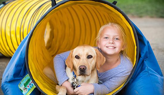 SC girl yellow dog tunnel.jpg