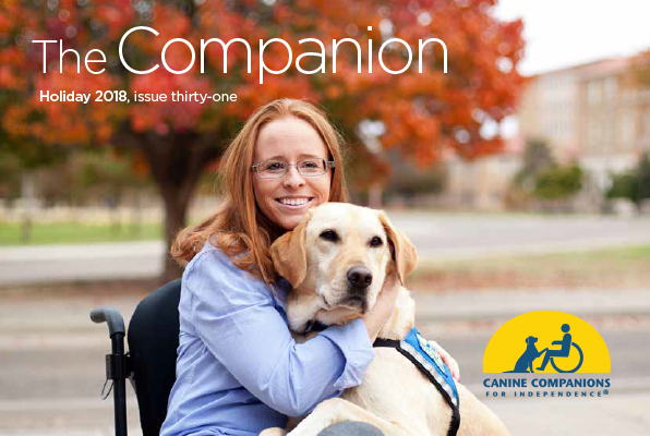 woman with dog - The Comapnion cover