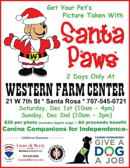 Santa Paws Poster 2018 550X712