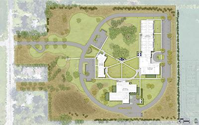 North Central Campus Rendering