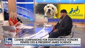 screenshot of FoxNews clip