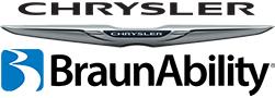 BraunAbility and Chrysler logos