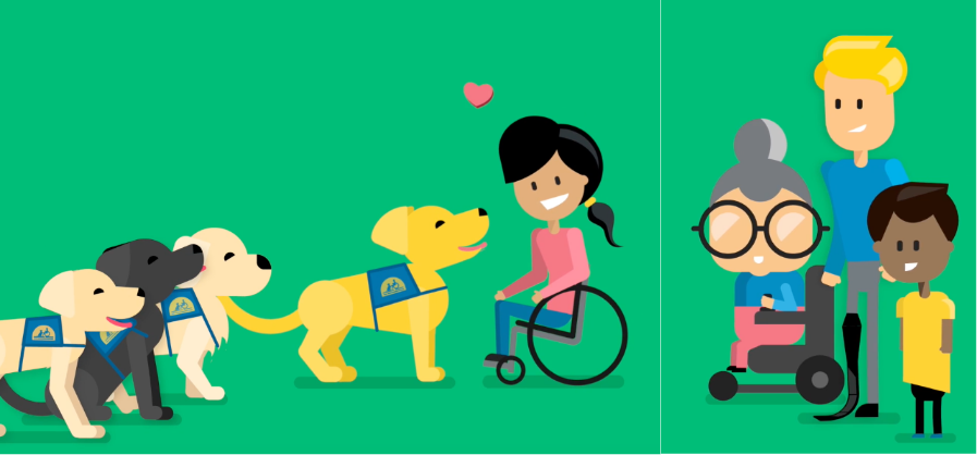 animated Canine Companions characters