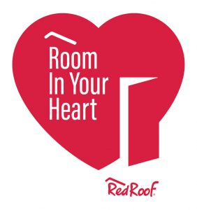 Red Roof Room in your heart logo